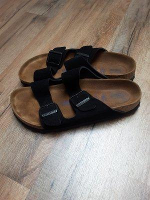 Birkenstock Comfort Sandals black suede