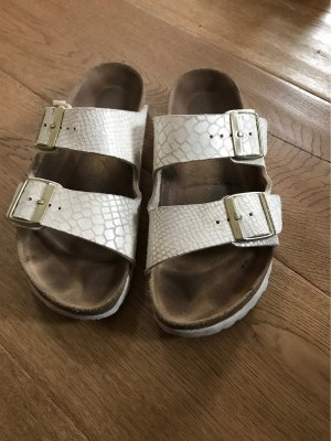 Birkenstock Sandalo con cinturino bianco