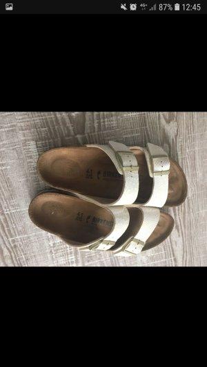 Birkenstock Sandalo comodo crema