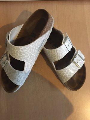 Birkenstock Sandalo comodo bianco