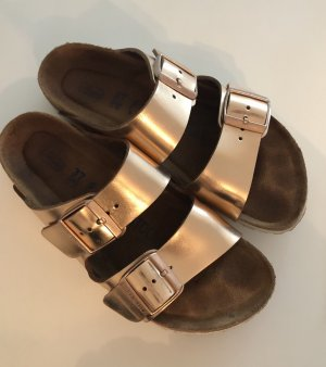Birkenstock Arizona metallic cooper