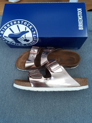Birkenstock Arizona metallic copper Gr. 38