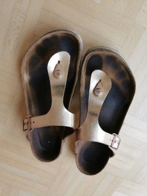 Birkenstock Flip-Flop Sandals rose-gold-coloured