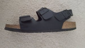 Birkenstock Sandalen met hoge hakken zwart