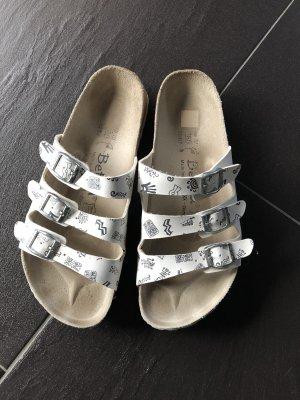 Betula Huisschoenen wit-zwart