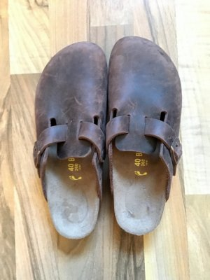 Birkenstock Boston braun Leder