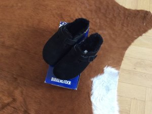 Birkenstock Boston Fur Clog