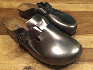 Birkenstock Zapatillas para casa gris antracita