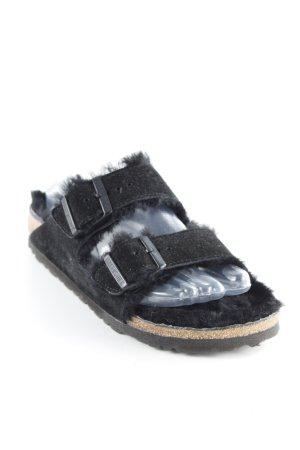 Birkenstock Flip flop sandalen zwart casual uitstraling