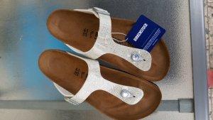 Birkenstock Toe-Post sandals white