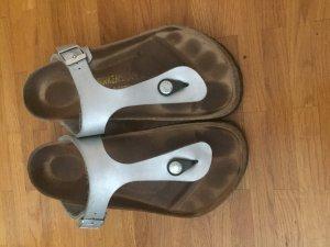 Birkenstock Comfort Sandals silver-colored