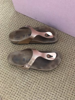 Birkenstock Toe-Post sandals black-pink