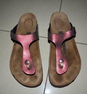 Birkenstock Flip-Flop Sandals mauve-pink