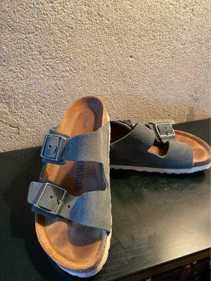 Birkenstock Strapped Sandals grey-dark grey