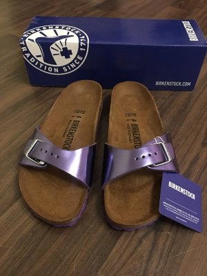 Birkenstock Outdoor Sandals lilac leather