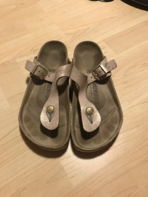 Birkenstock Sandalo toe-post multicolore