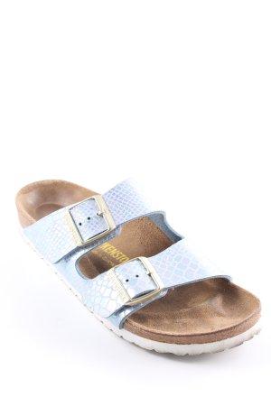 """Birkenstock Sandalo comodo """"Arizona Shiny Snake Sky schmal"""""""