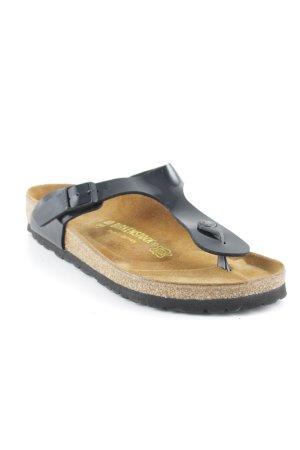 Birkenstock Komfort-Sandalen schwarz-camel Casual-Look