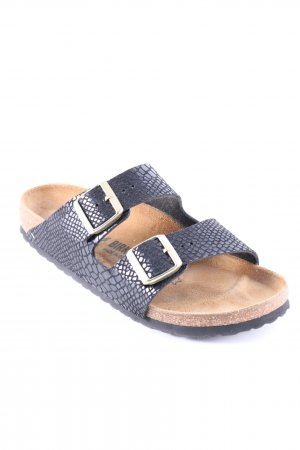 Birkenstock Comfort Sandals black-camel casual look