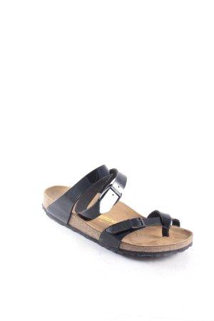 Birkenstock Komfort-Sandalen schwarz klassischer Stil