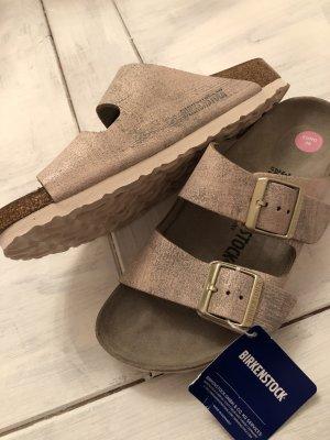Birkenstock Strapped Sandals rose-gold-coloured
