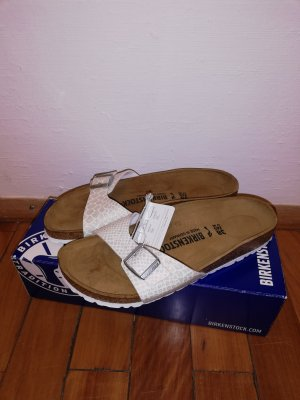 Birkenstock Madrid 38 BS Magic Snake White Neu