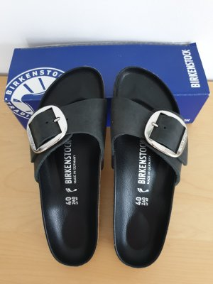 Birkenstock Sabots black leather