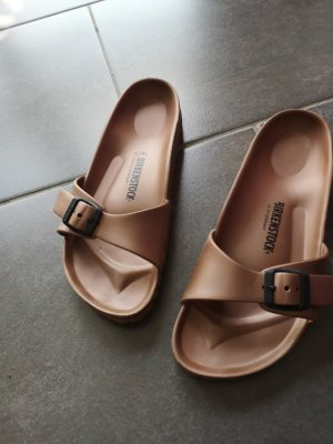 Birkenstock Sandals bronze-colored