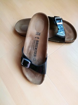 Birkenstock Sabots black leather