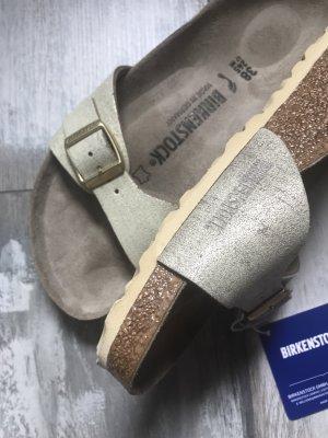 Birkenstock Madrid Leder glänzend Used Look neu