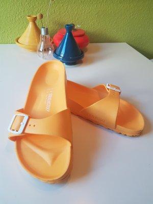 Birkenstock Madrid Sandale in gelb und Größe 41