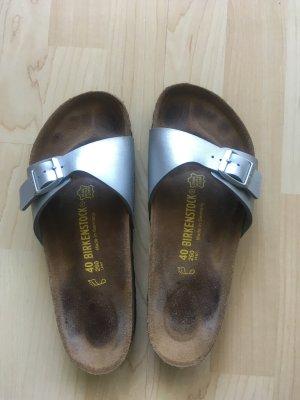 Birkenstock Sandalias Dianette color plata