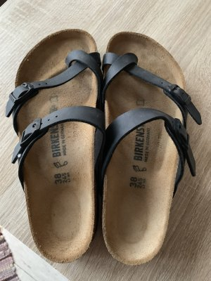 Birkenstock Toe-Post sandals black