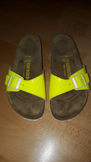 Birkenstock Comfort Sandals yellow
