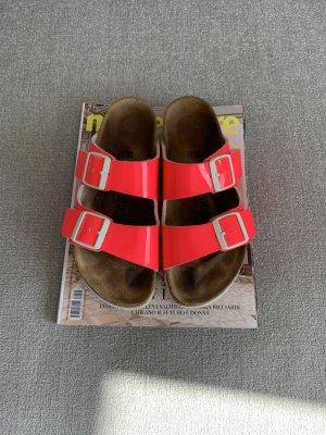 Birkenstock Comfort Sandals raspberry-red