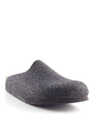 Birkenstock Pantoffeln anthrazit-hellbraun meliert Casual-Look