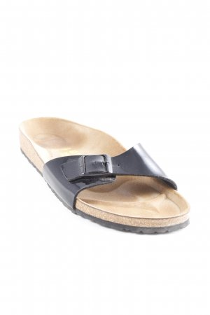 Birkenstock Scuffs black-light brown casual look