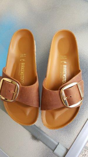 Birkenstock Scuffs light brown-brown