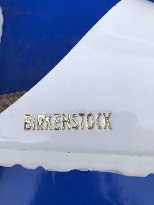 Birkenstock Outdoor Sandals white-gold-colored