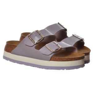 Birkenstock Platform Sandals lilac synthetic