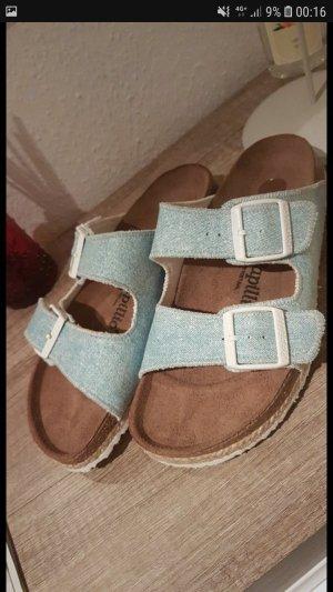 Birkenstock Sandalen met hoge hakken veelkleurig