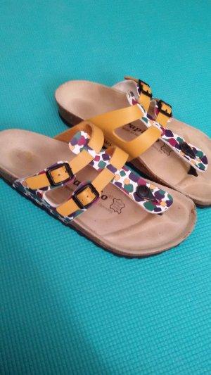 Birkenstock Flip-Flop Sandals multicolored leather