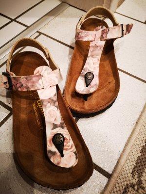 Papillio High-Heeled Toe-Post Sandals multicolored