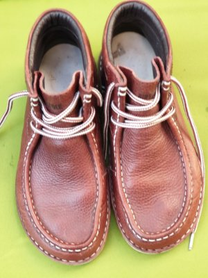 Birkenstock Lace-Up Sneaker cognac-coloured-brown leather