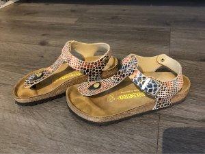 Birkenstock T-Strap Sandals multicolored