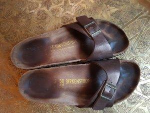 Birkenstock Comfort Sandals bronze-colored
