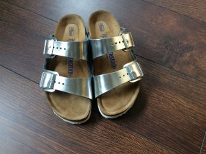 Birkenstock Strapped Sandals light grey