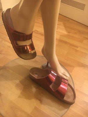 Birkenstock Comfort Sandals russet leather