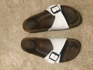 Birkenstock Comfort Sandals white-brown leather