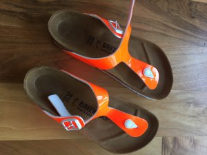 Birkenstock Sandals white-neon orange